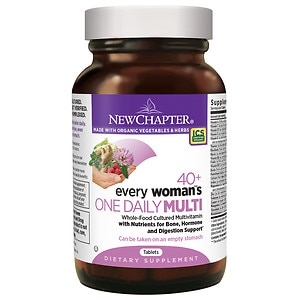 New Chapter Every Woman's One Daily 40+ Multivitamin, Tablets- 48 ea