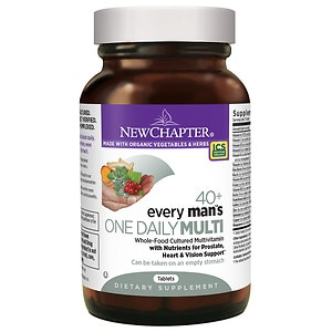New Chapter Every Man's One Daily 40+ Multivitamin, Tablets- 72 ea