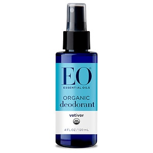 EO Organic Deodorant Spray, Vetiver