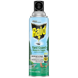 Raid Yard Guard Mosquito Fogger, 16 oz