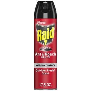 Raid Ant & Roach Killer Aerosol, Outdoor Fresh- 17.5 oz