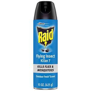 Raid Flying Insect Killer Aerosol, Outdoor Fresh