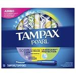 Tampax Pearl Tampons Triplepack, Unscented, Lite Regular Super- 50 ea