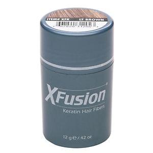 XFusion Keratin Hair Fibers, Light Brown