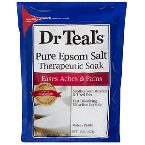 Dr. Teal's Epsom Salt Soaking Solution Magnesium Sulfate USP