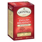 Twinings English Breakfast Tea, Decaf