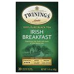 Twinings Irish Breakfast Tea- 20 ea