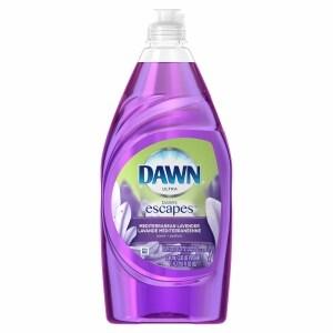 Dawn Escapes Dishwashing Liquid, Mediterranean Lavender