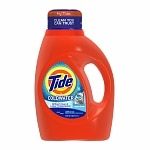 Tide ColdWater High Efficiency Liquid Laundry Detergent, 26 Loads, Fresh Scent