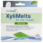 XyliMelts Discs for Dry Mouth, Mint Free- 80 ea