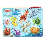 Melissa and Doug Fishing Magnetic Puzzle Game Ages 3+