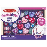 Melissa and Doug Sweet Hearts Bead Set Ages 4+- 1 ea