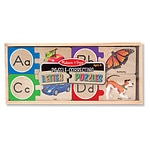 Melissa and Doug Letter Puzzles Ages 4+