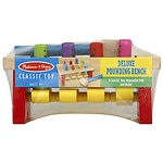 Melissa and Doug Deluxe Pounding Bench Ages 2+- 1 ea