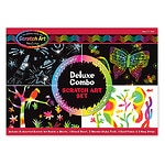 Melissa and Doug Deluxe Combo Scratch Art Set Ages 4+