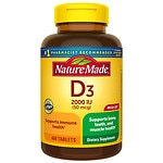 Nature Made Vitamin D3 2000 IU