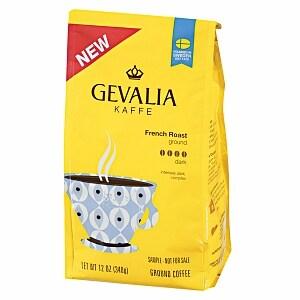 Gevalia Kaffee Ground Coffee, French Roast- 12 oz