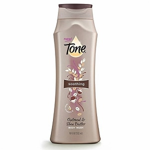 Tone Soothing Body Wash, Oatmeal & Shea Butter
