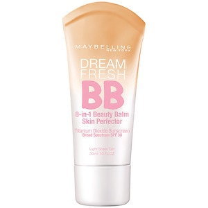 Maybelline Dream Fresh BB 8-in-1 Beauty Balm Skin Perfector SPF 30, Light