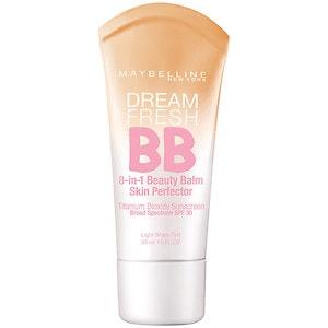 Maybelline Dream Fresh BB 8-in-1 Beauty Balm Skin Perfector SPF 30, Light- 1 fl oz