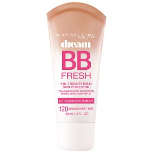 Maybelline Dream Fresh BB 8-in-1 Beauty Balm Skin Perfector SPF 30, Medium