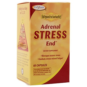 Enzymatic Therapy Fatigued to Fantastic! Adrenal Stress End, Capsules- 60 ea