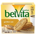 belVita Breakfast Biscuits, Golden Oat, 5 pk- 1.76 oz
