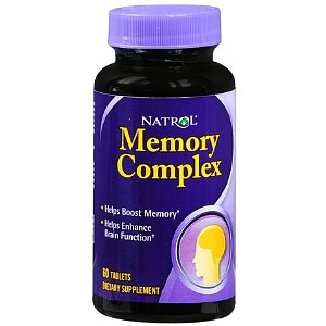 Natrol Memory Complex, Tablets- 60 ea