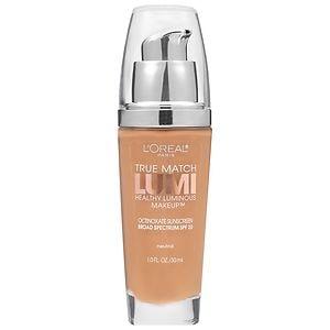 L'Oreal Paris True Match Lumi Healthy Luminous Makeup SPF 20, Classic Tan/Cappuccino
