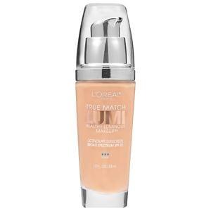 L'Oreal Paris True Match Lumi Healthy Luminous Makeup SPF 20, Classic Beige- 1 fl oz