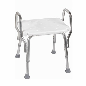 Mabis Shower Chair Without Backrest- 1 ea