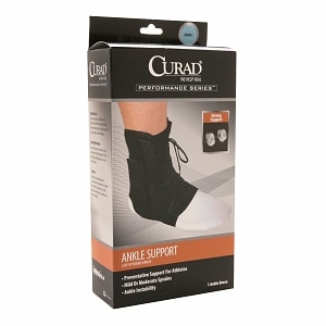 Curad Ankle Splint, Lace-Up, Figure 8, Small
