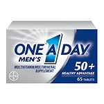 One A Day Men's Advantage 50+ Multivitamin