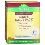 Finest Nutrition Multi Vitamin Men Pouch Combo Pk