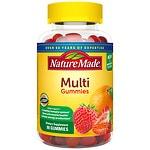 Nature Made Multi Adult Gummies, Orange, Cherry & Mixed Berry- 90 ea