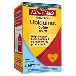 Nature Made Ubiquinol CoQ10 100 mg, Softgels, 30 ea