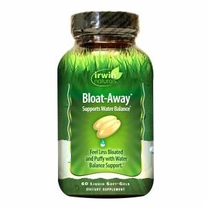 Irwin Naturals Bloat-Away Water Balance Support, Softgels- 60 ea