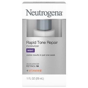 Neutrogena Rapid Tone Repair Moisturizer Night, 1 fl oz