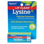 Quantum Health Lip Clear, Lysine + Cold Sore Treatment- .25 oz