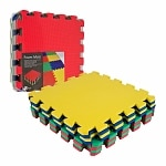 Trademark Home Multi-Color EVA Foam Exercise Mat 8 pc