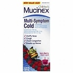 Mucinex Kids Children's Multi-Symptom Cold, Very Berry Flavor Liquid
