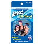 Mack's Ear Band Swimming Headband, Blue/ Purple