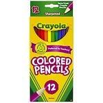Crayola Colored Pencils- 12 Each