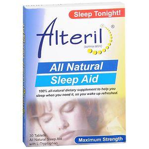 Biotab Nutraceuticals Alteril All Natural Sleep Aid- 30 ea
