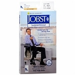 Jobst SupportWear Men's Mild Compression Knee High Socks, Khaki, Medium- 1 pr