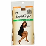 L'eggs Brown Sugar Regular Panty Sandalfoot Ultra Ultra Sheer Pantyhose Medium/Tall
