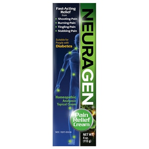 Neuragen Pain Relief Homeopathic Analgesic Topical Cream- 4 Ounces