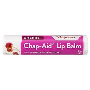 Walgreens Chap-Aid Lip Balm SPF 4, Cherry, .15 oz