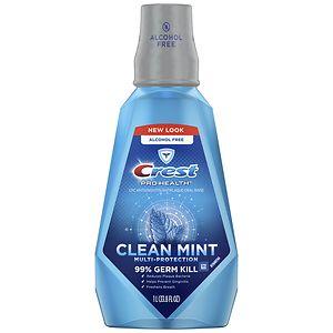 Crest Pro-Health Multi-Protection Mouthwash, Refreshing Clean Mint- 33.8 fl oz