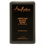 Shea Moisture Organic Bar Soap, African Black